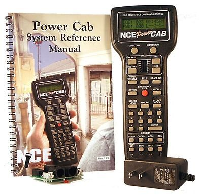 NCE Power Cab Complete DCC Starter Set w/110-240V US Power Supply NCE5240025