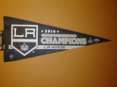 2014 Los Angeles Kings Western Conference Champs Stanley Cup NHL Pennant
