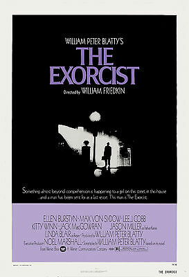 Horror: The Exorcist Movie Poster 1973  13x19