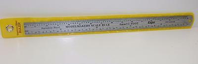 OO scale Expo Stainless Steel Rule to measure feet in OO scale FNQHobbys (R1)