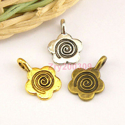 Teacher Apple Wholesale Antiqued Bronze Charm Pendants C0927-10 20 Or 50PCs
