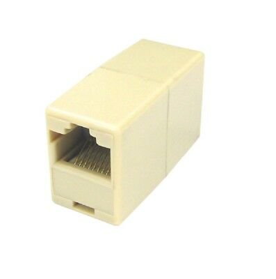 RJ45 Coupler Network Cable Joiner Ethernet LAN Straight *Quality Wired Adaptor*