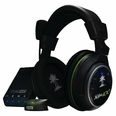 PS3 & Xbox 360 Turtle Beach Ear Force XP 400 wireless gaming Headset NEU