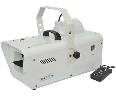 QTX 160.565 High Output 1200W Professional Stage Snow Machine Heavy Duty - New