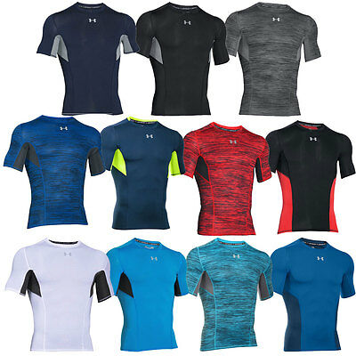Under Armour 2016 Mens CoolSwitch Compression Short Sleeve Gym Sports Baselayer