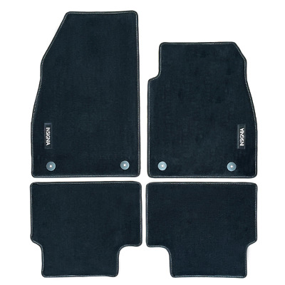 Vauxhall Insignia Velour Black Tailored Front/Rear Floor Car Mats GENUINE OE