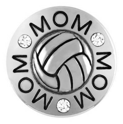 BUY 4,GET 5TH $6.95 GINGER SNAP Jewelry FREE - VOLLYBALL MOM SN14-10