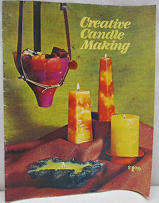 Vintage 1971 Creative Candle Making LaCresta How To