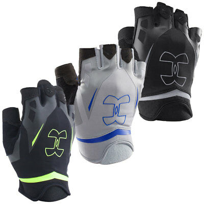 Under Armour 2017 Mens UA Flux Half-Finger Training Gloves Pair Gym Lifting