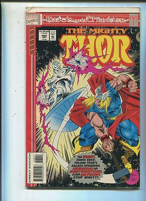 The Mighty Thor #468 Blood And Thunder   Near Mint CBX1B