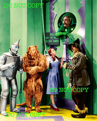 WIZARD OF OZ - 8x10 Photo - ARRIVING AT OZ