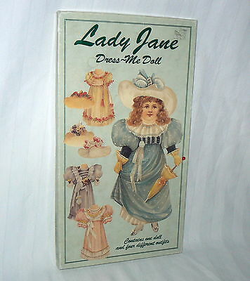 Lady Jane Dress Me Doll Complete Outfits/Hats 1993