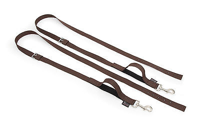 SHIRES NYLON WEB SIDE REINS 411 horse equine equestrian exercise training stable