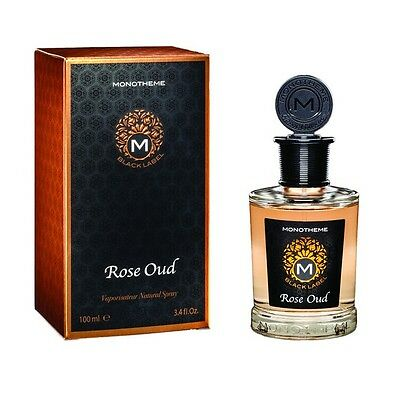 Monotheme Black Label Rose Oud 100Ml Spray Eau De Parfum