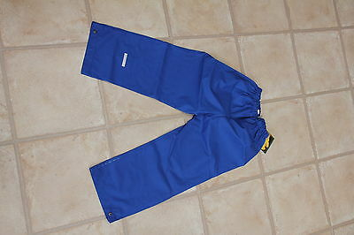 Rukka Childs Tousers  Royal Blue  bnwt size 134cm BNIB