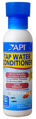 API TAP WATER CONDITIONER 118ml DECHLORINATOR CHLORINE AQUARIUM FISH TANK