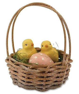 "Bethany Lowe ""Basket of Chicks"" Figure/ornament"