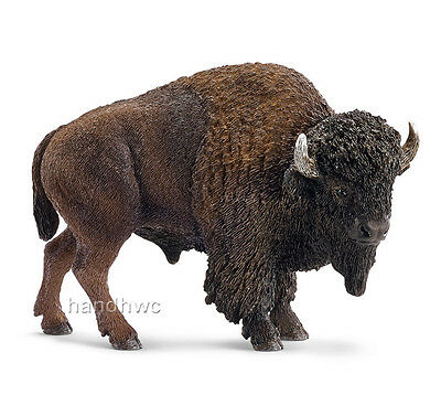 Schleich 14714 American Buffalo Bison Animal Figurine Toy Figurine - NIP