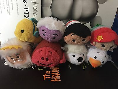 USA Disney Tsum Tsum The Little Mermaid Complete Set of 8