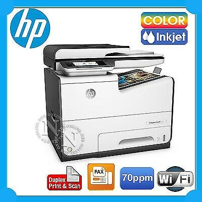 HP PageWide Pro 577dw 4in1 Inkjet Wireless Printer+FAX+Duplex Print/Scan D3Q21D