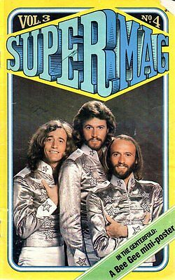 1978 Supermag magazine BEE GEES The Wiz with MICHAEL JACKSON DIANA ROSS