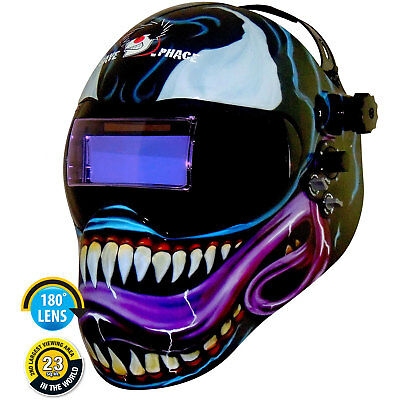 Save Phace 3012145 Gen Y EFP Welding Helmet Custom Venom Graphics