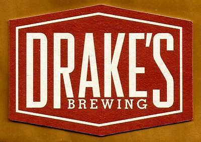 16 Drake/'s Brewing Drink Different Drink Drake/'s  Beer Coasters