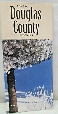 2000 Come To Douglas County Wisconsin Map Brochure