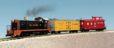 Usa Trains G Scale Rio Grande Switcher Nw-2 Diesel Starter Set | Bn | R72300