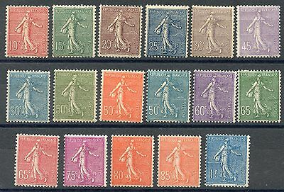 French Sower Sc#138/54  Mint Extremely Light Hinged Original Gum