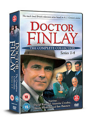 Doctor Dr Finlay The Complete Collection Series 1 2 3 & 4 David Rintoul 12 Dvds