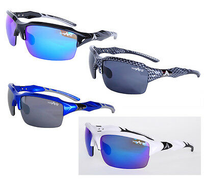 Wrapz Interceptor Premium Sport Sunglasses For Cycling Cricket & Golf