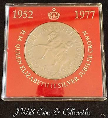 1952-1977 Queen Elizabeth II Silver Jubilee Cased Crown Coin