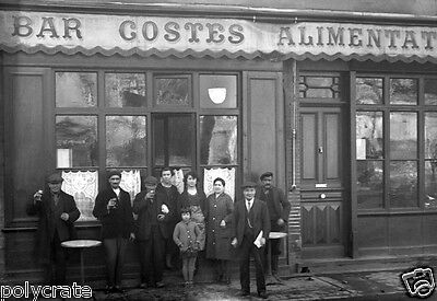 Shoemaker Antique Store from Toulouse France 1928 reprint Vintage photo