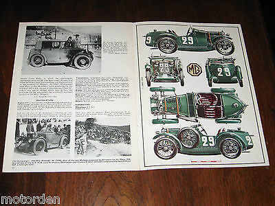 MG Midget M type M.G. well illustrated 1967 booklet Profile 45, FREE POST