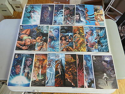 Fathom Soulfire 55 Issue Comic Lot Sets Specials Micahel Turner Aspen Comics Hot