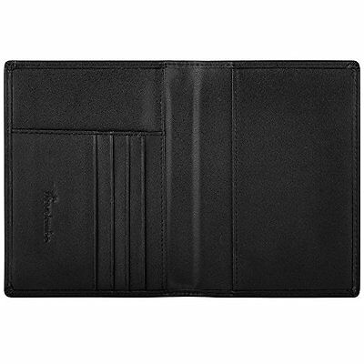 Travelambo RFID Blocking Genuine Leather Passport Holder Wallet Cover Case for