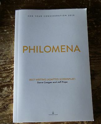 PHILOMENA FYC For Your Consideration screenplay script book 2