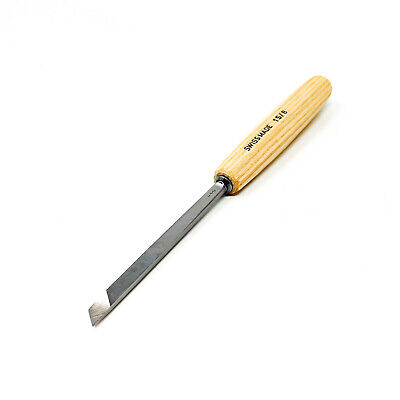 PFEIL SWISS MADE 1S/8 8MM SKEW CARVING CHISEL-$8.95 to ship, extras ship $1 ea