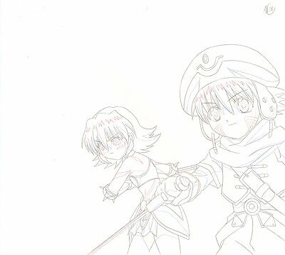 Anime Douga not Cel .hack // SIGN OP #4