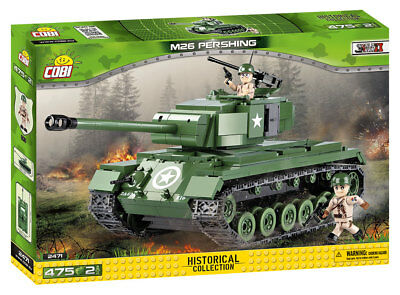 Cobi 2471 - Small Army - Wwii Us M-26 Pershing - Neu