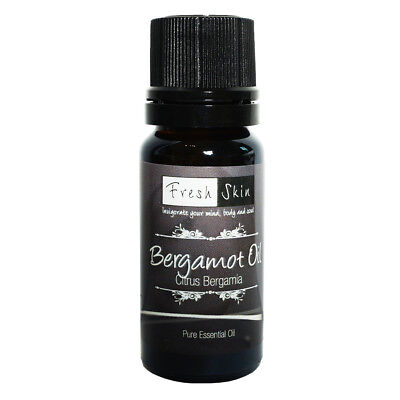 10ml Bergamot Pure Essential Oil - 100% Pure, Certified & Natural - Aromatherapy