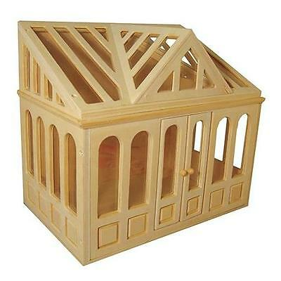 Conservatory for 1:12 Scale Dolls House Unpainted