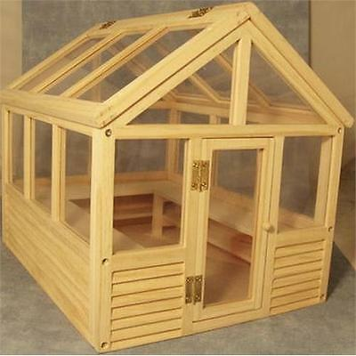 Greenhouse 1:12 Scale for Dolls House Garden Unpainted