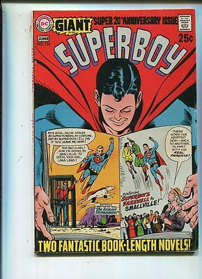 Superboy #156 Very Good/Fine  Giant Super 20th Anniversary Issue  CBX38B