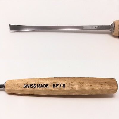 PFEIL SWISS MADE 5F/8  FISHTAIL CARVING GOUGE-$8.95 to ship, extras ship $1 ea