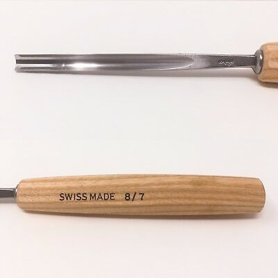 Pfeil Swiss Made 8/7 #8 7Mm Gouge Carving Tool Chisel