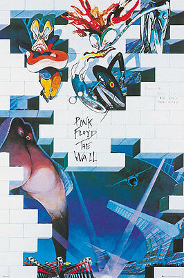 PINK FLOYD THE WALL ALBUM COVER POSTER (Size 24x36)