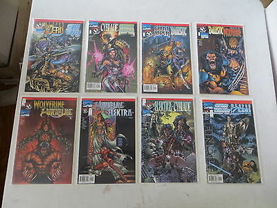 Devil's Reign 8 Issue Comic Set Chapters 1-8  Marvel Top Cow Silver Surfer