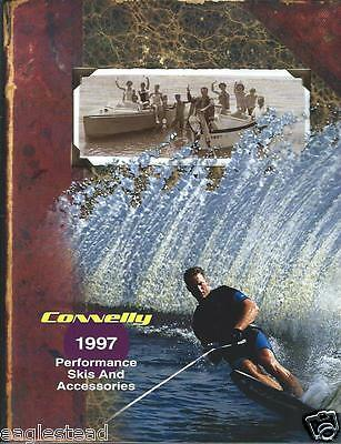 Water Ski Brochure - Connelly - Product Line Overview - 1997 (SH111)